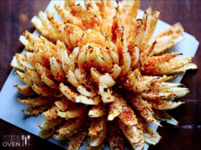 Healthy Bloomin' Onion