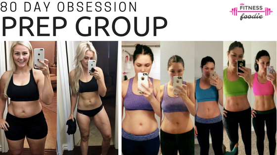 80 Day Obsession Prep Group is OPEN!