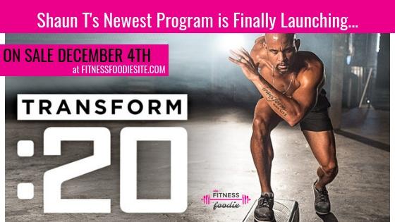 Get An Inside look at Transform 20 - Shaun T's newest